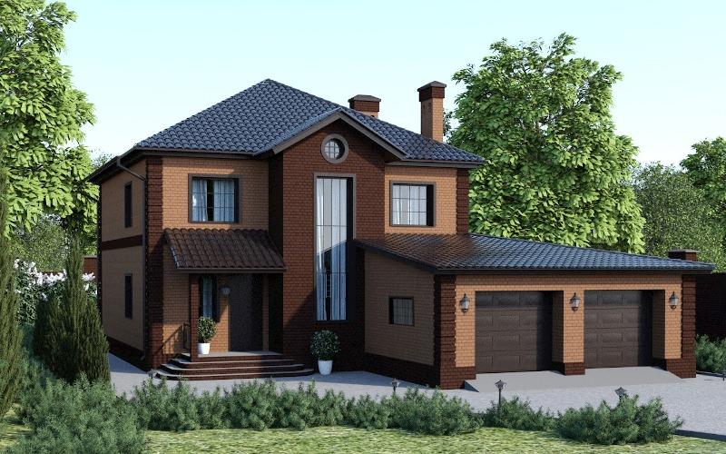 ТОП 11 интересных проектов домов из бруса - Строительный
